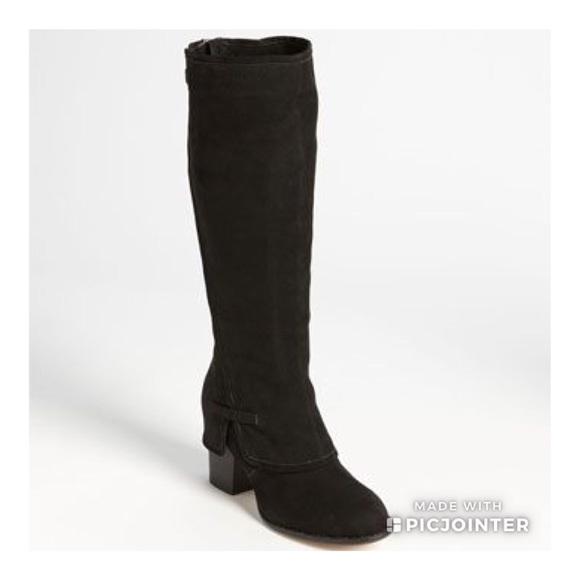 8e12857b194 Splendid Lima Black Suede Knee High Boots Size 6. M 5b5fbb52800deee78bf820a0